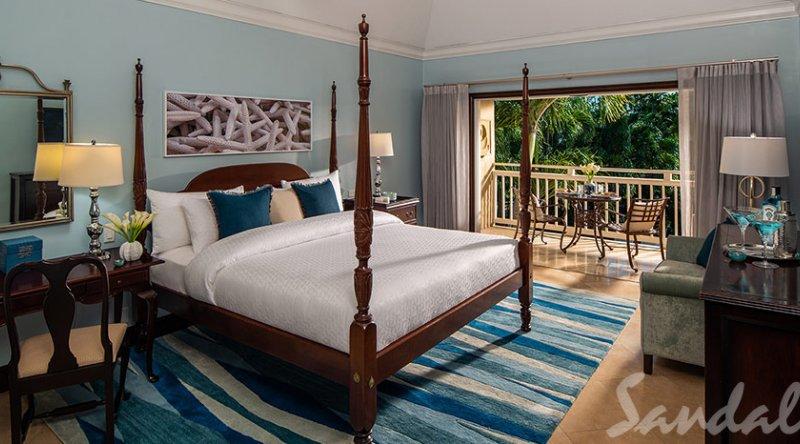 Caribbean Grande Luxe Poolside Room - Sandals Grande Antigua Resort & Spa