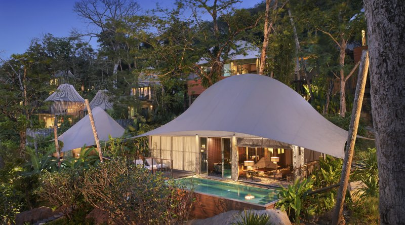 Tent Pool Villa - Keemala