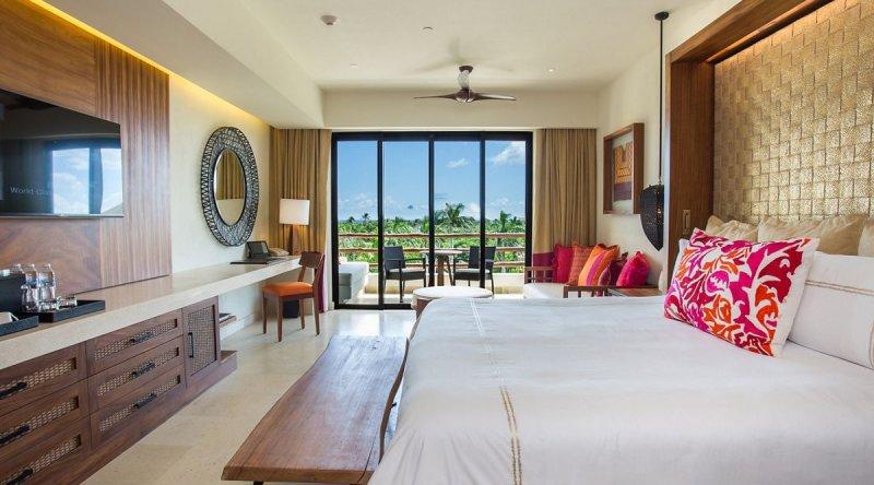 Junior Suite Partial Ocean View - Secrets Akumal Riviera Maya