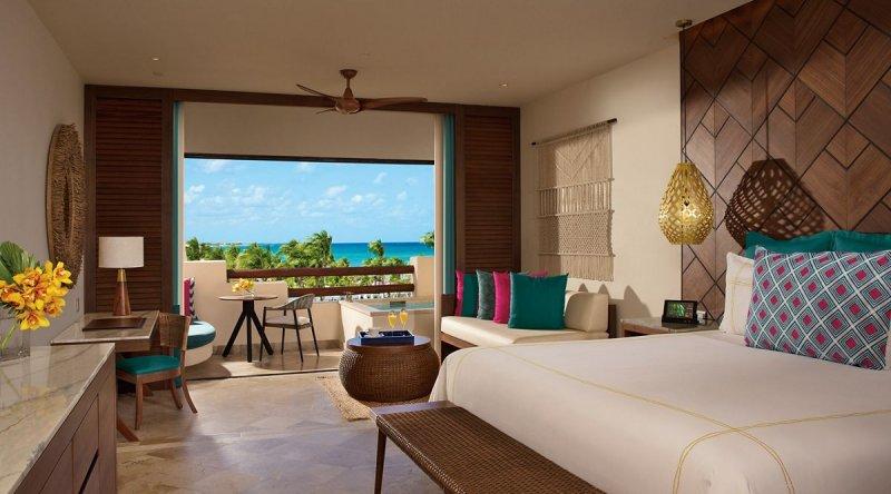 Preferred Club Junior Suite Ocean View - Secrets Maroma Beach