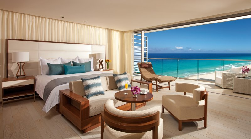 Preferred Club Junior Suite Ocean View - Secrets The Vine Cancun