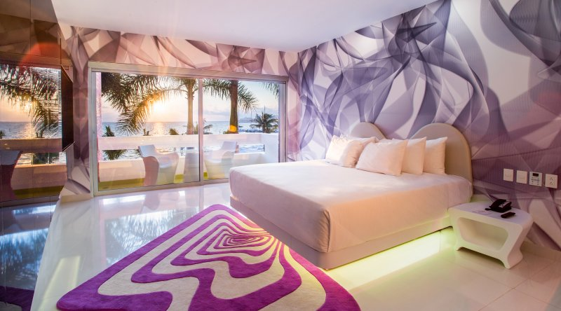 Trendy Ocean View Room - Temptation Cancun Resort