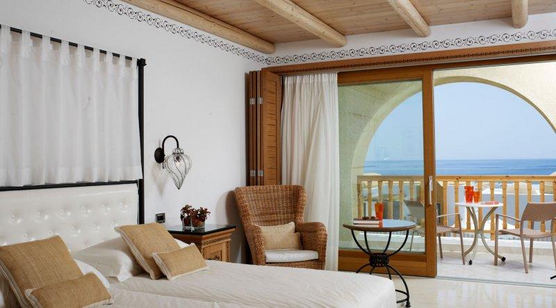 Twin Sea View Mitsis Blue Domes Resort & Spa