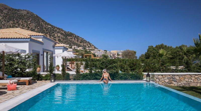 Villa Sea View Private Pool Mitsis Blue Domes Resort & Spa