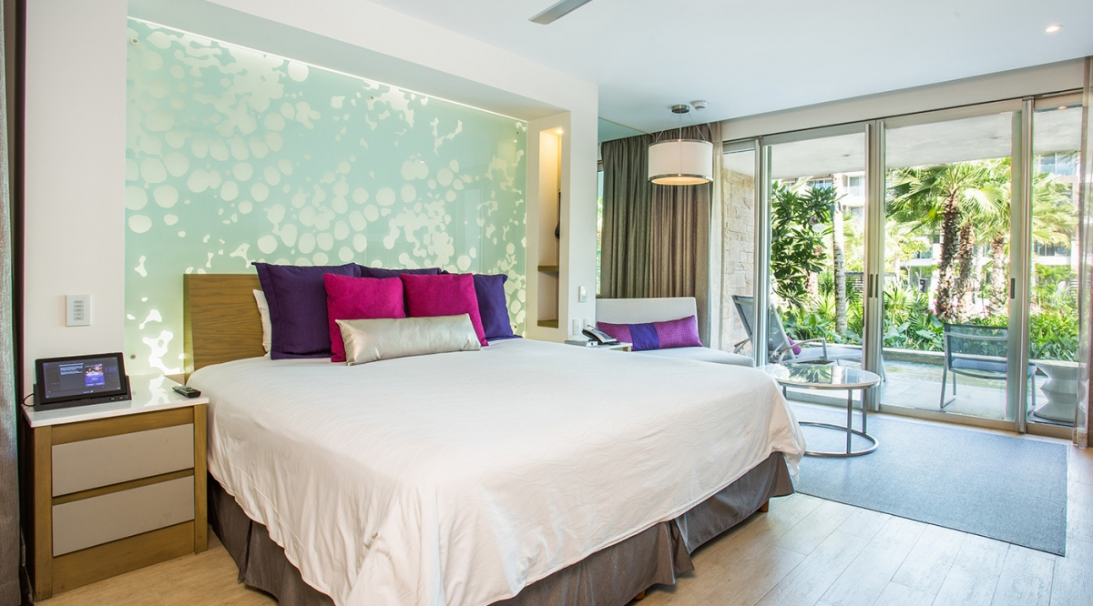 Allure Junior Suite Swim Out Tropical View - Breathless Riviera Cancun Resort & Spa