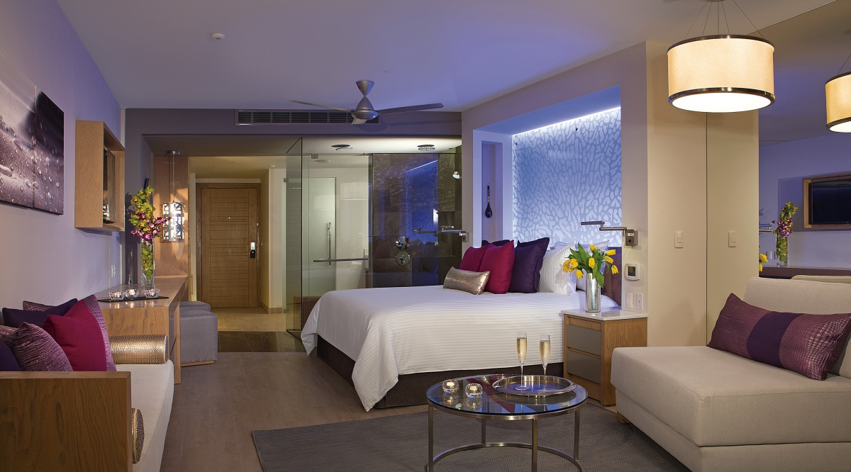 Xhale Club Junior Suite Ocean View - Breathless Riviera Cancun Resort & Spa