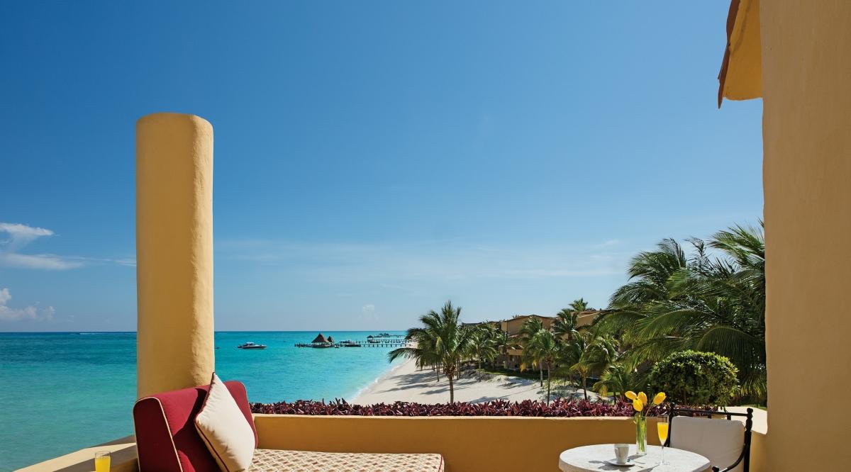 Ocean Front One Bedroom Suite with Terrace Zoetry Paraiso de la Bonita