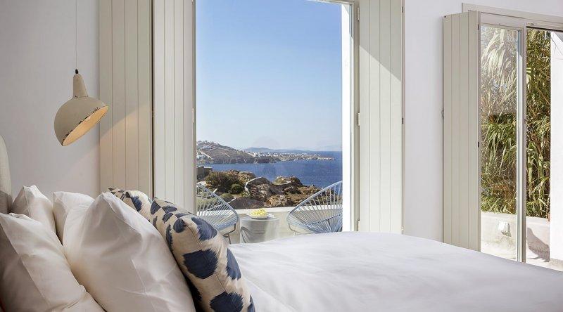 Honeymoon Sea View Suite Boheme Mykonos