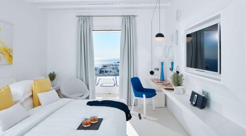 Sea Breeze Side Sea View Myconian Ambassador Relais & Chateaux Hotel