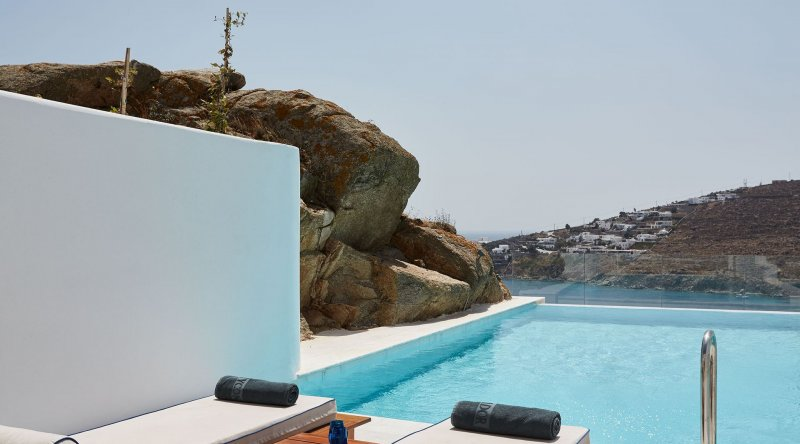 Grand Blue with Private Pool Myconian Ambassador Relais & Chateaux Hotel