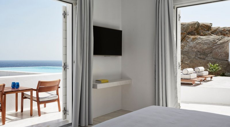 Horizon Retreat with Private Pool Myconian Ambassador Relais & Chateaux Hotel