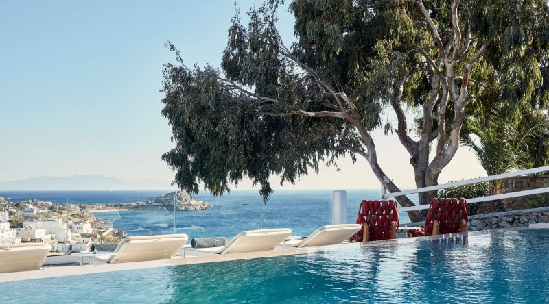 Two-Bedroom Villa with Private Pool Myconian Ambassador Relais & Chateaux Hotel