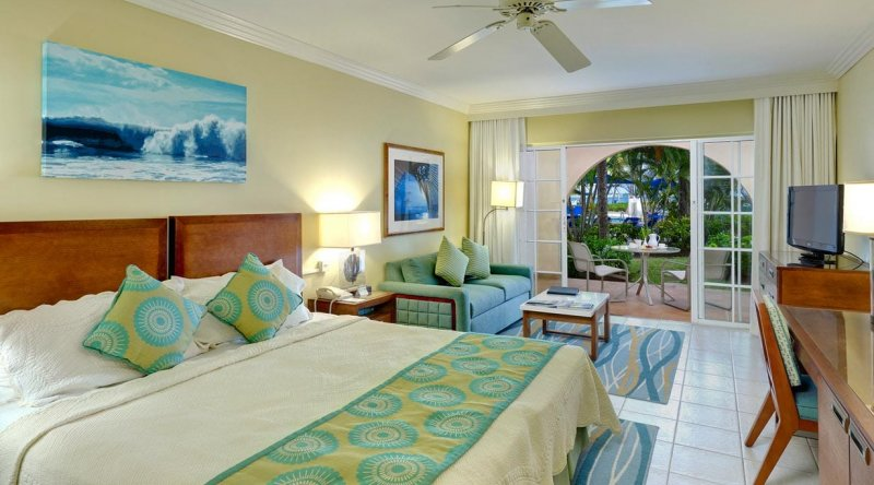 Junior Suite Pool or Garden View - Turtle Beach by Elegant Hotels
