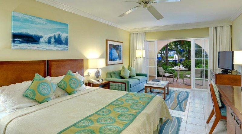 Junior Suite Pool or Garden View Turtle Beach by Elegant Hotels
