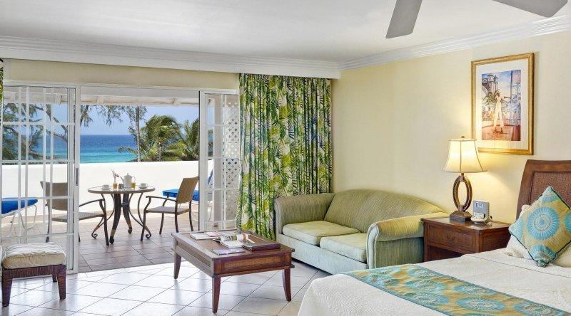 Junior Suite Deluxe Ocean View Turtle Beach by Elegant Hotels