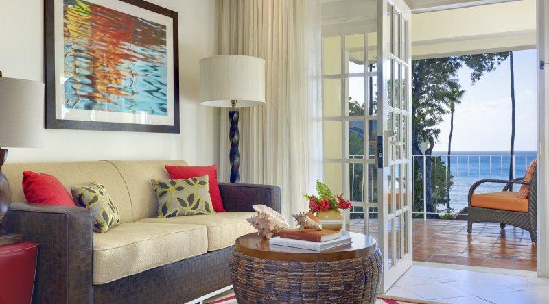One Bedroom Suite Ocean Front Tamarind by Elegant Hotels