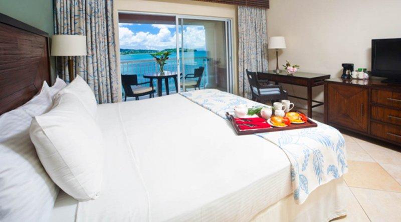 Deluxe Ocean View Room St James Club Morgan Bay