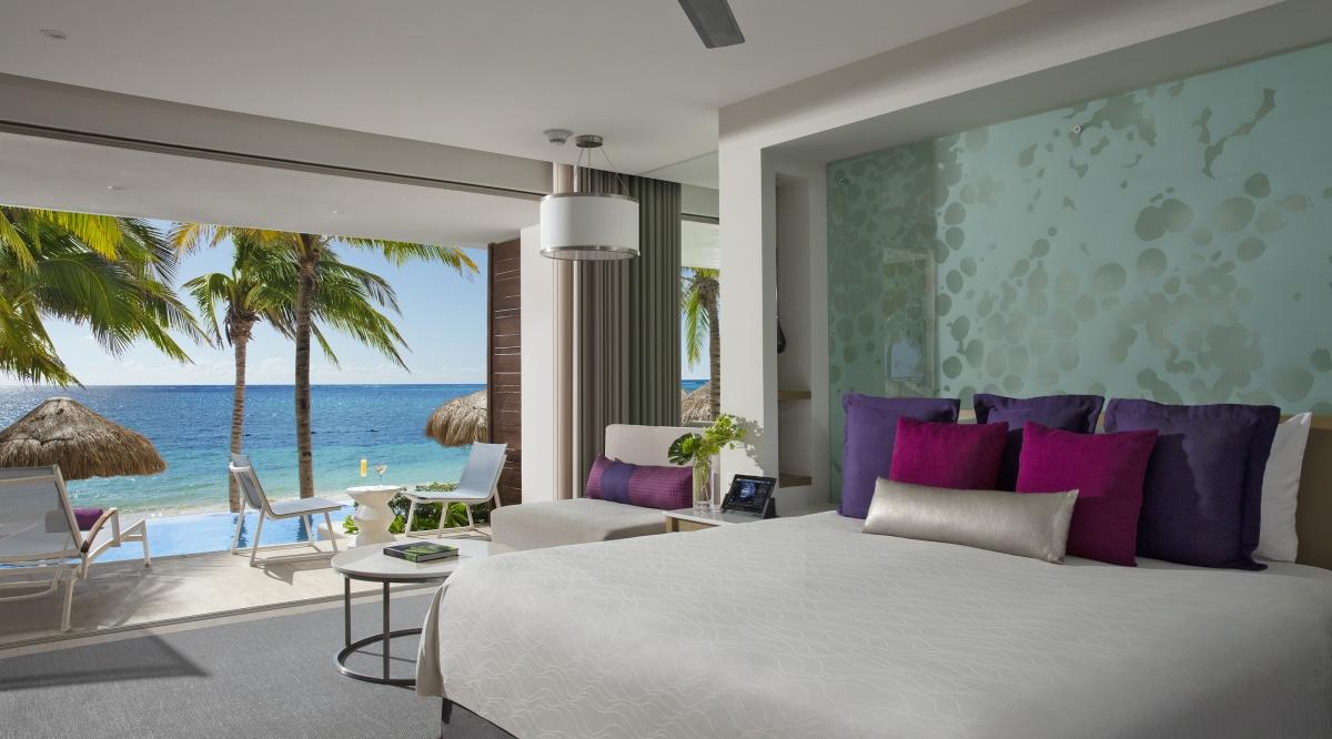 Xhale Club Master Suite Ocean View - Breathless Riviera Cancun Resort & Spa