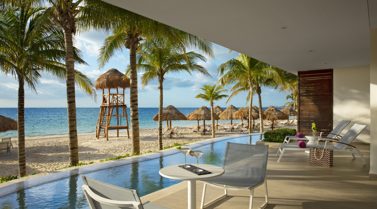 Xhale Club Presidential Suite Ocean Front - Breathless Riviera Cancun Resort & Spa