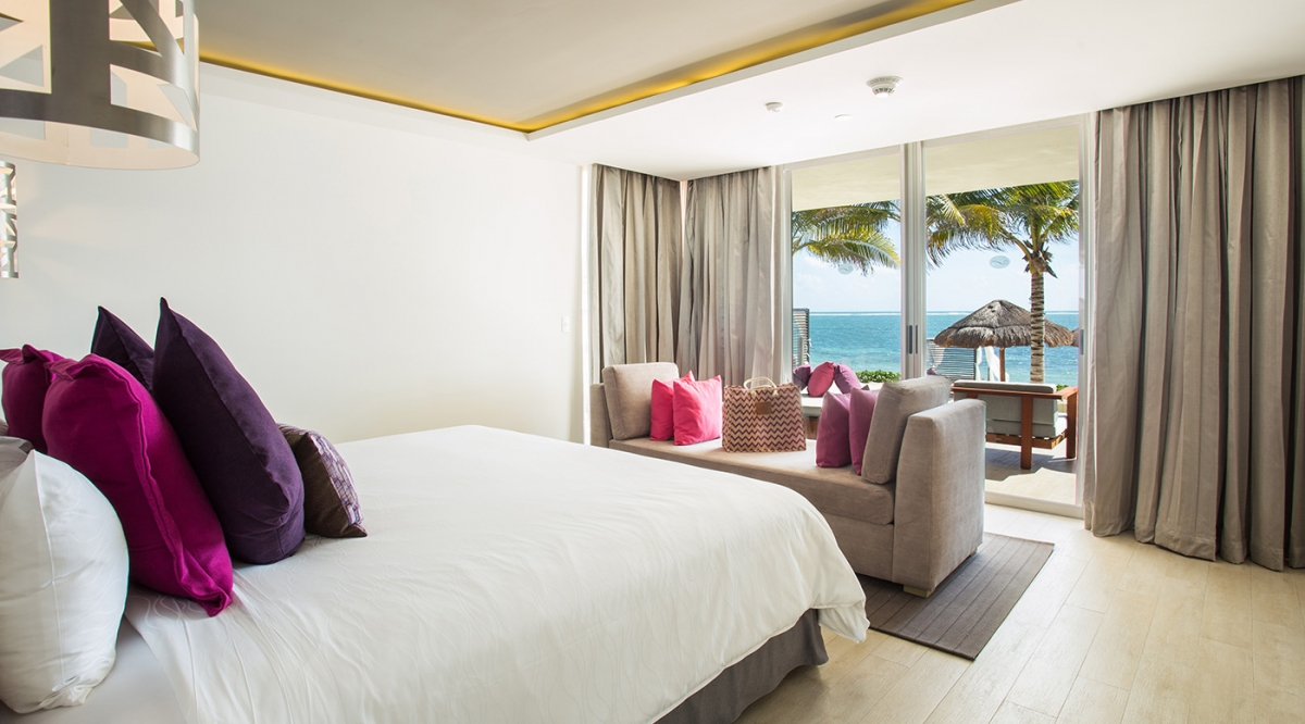 Xhale Club Presidential Suite Swimout Ocean Front - Breathless Riviera Cancun Resort & Spa