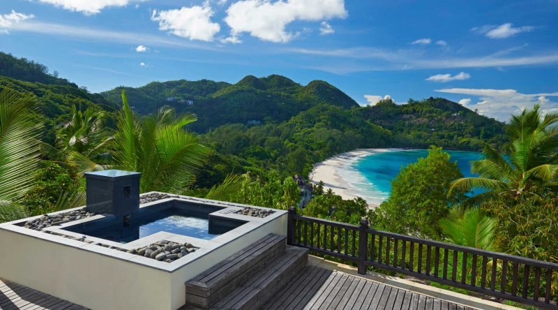 Sanctuary Ocean View Pool Villa - Banyan Tree Seychelles
