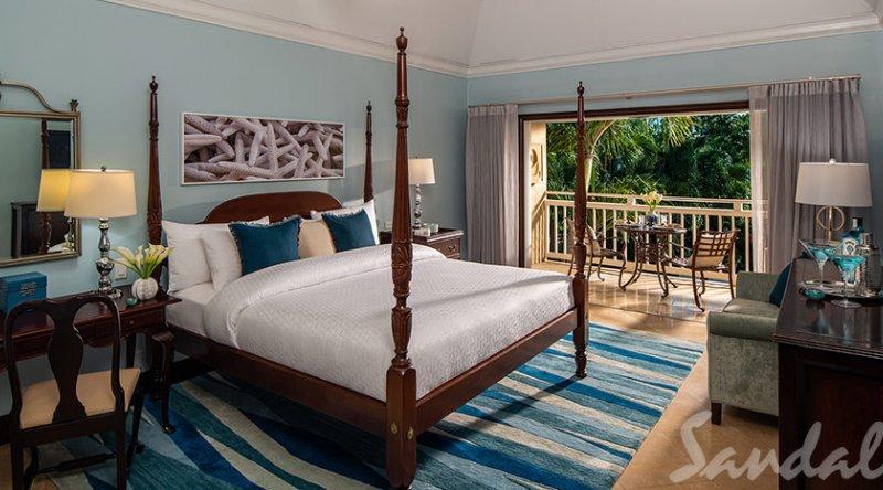 Caribbean Honeymoon Grande Luxe Poolside Room - Sandals Grande Antigua Resort & Spa