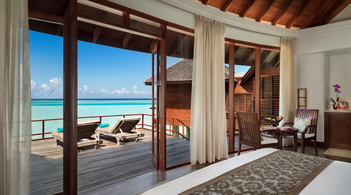 Sunrise Over Water Suite - Anantara Dhigu Maldives Resort