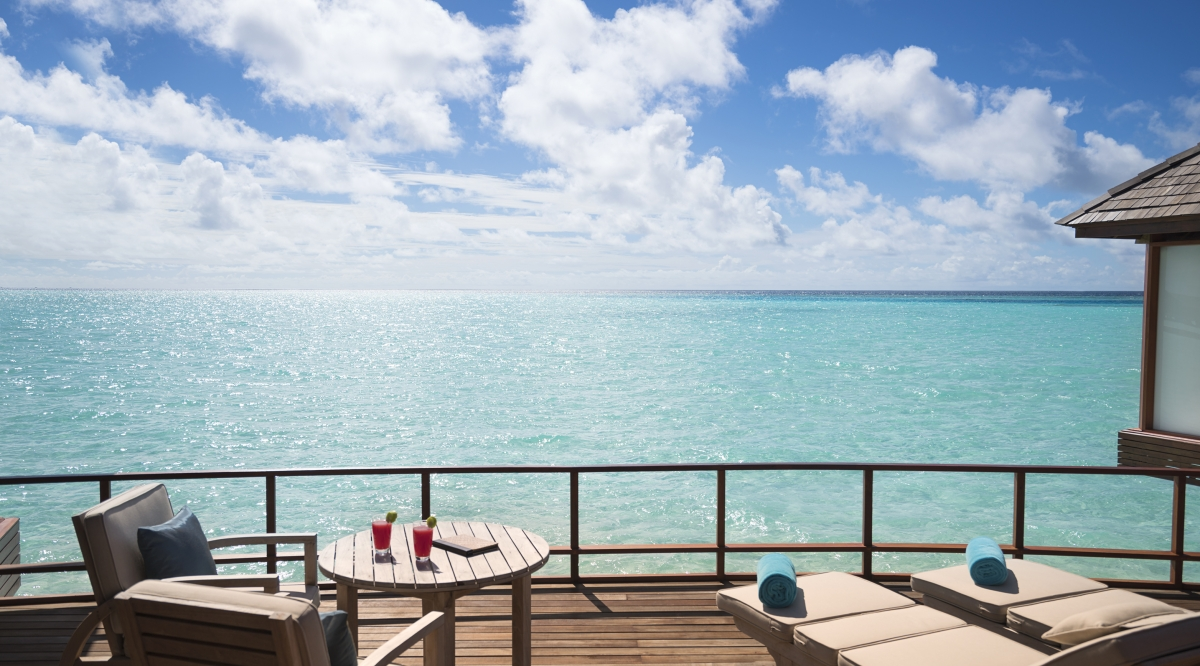 Sunset Over Water Suite - Anantara Dhigu Maldives Resort
