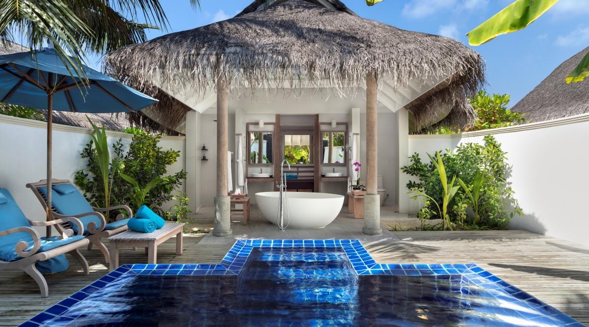Sunset Pool Villa - Anantara Dhigu Maldives Resort