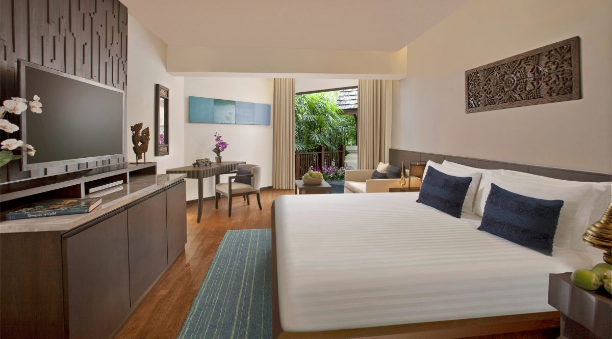 Junior Garden View Suite - Anantara Bophut Koh Samui Resort