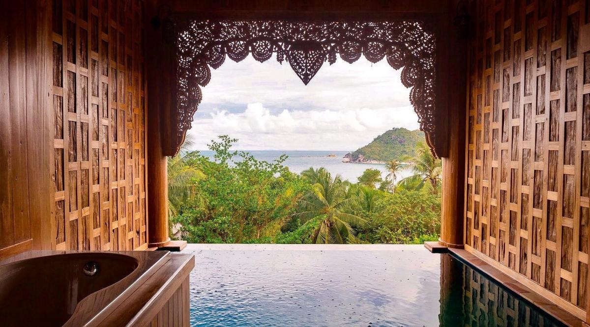 Pool Suite Sea View - Santhiya Koh Phangan Resort & Spa
