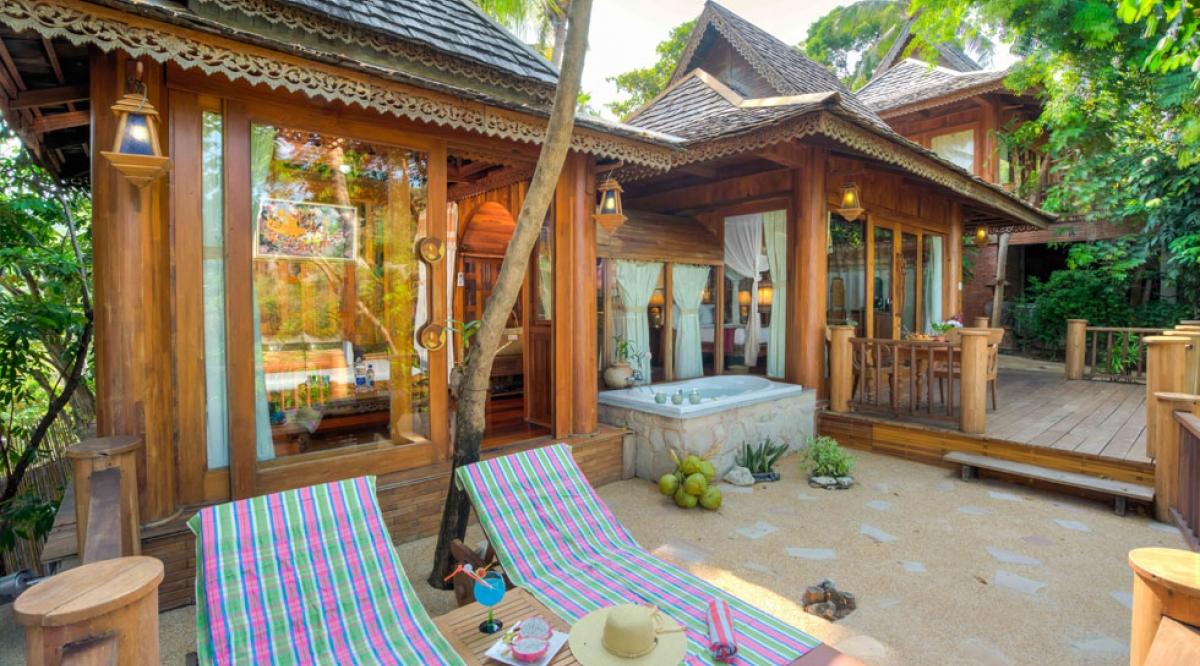 Sea View Villa - Santhiya Koh Phangan Resort & Spa