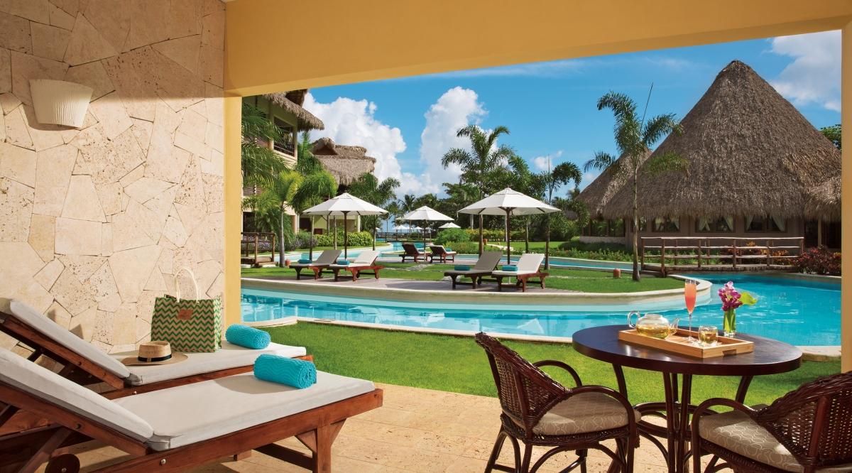 Junior Suite Agua Swim Up Zoetry Agua Punta Cana