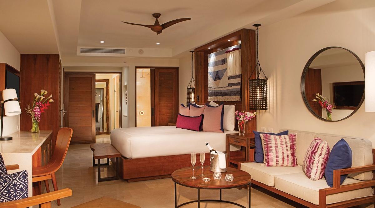 Junior Suite Partial Ocean View Secrets Cap Cana Resort & Spa