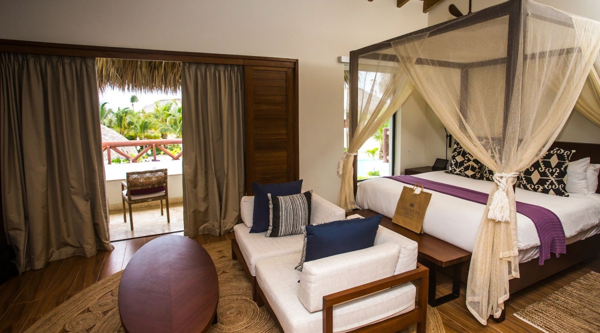 Preferred Club Bungalow Master Suite Pool View Secrets Cap Cana Resort & Spa