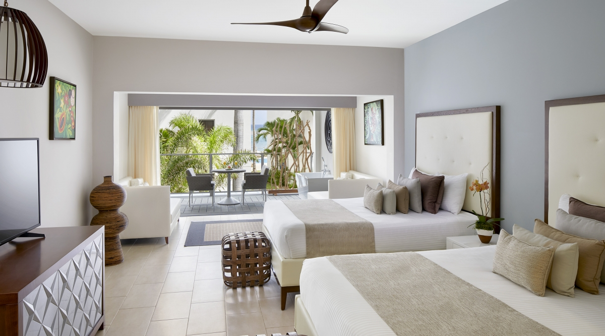 Junior Suite Ocean View With Soaking Tub Zoetry Montego Bay