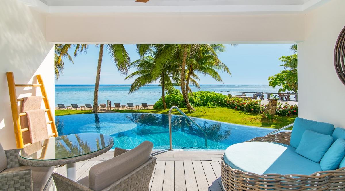 Junior Suite Swim Out Ocean View Zoetry Montego Bay