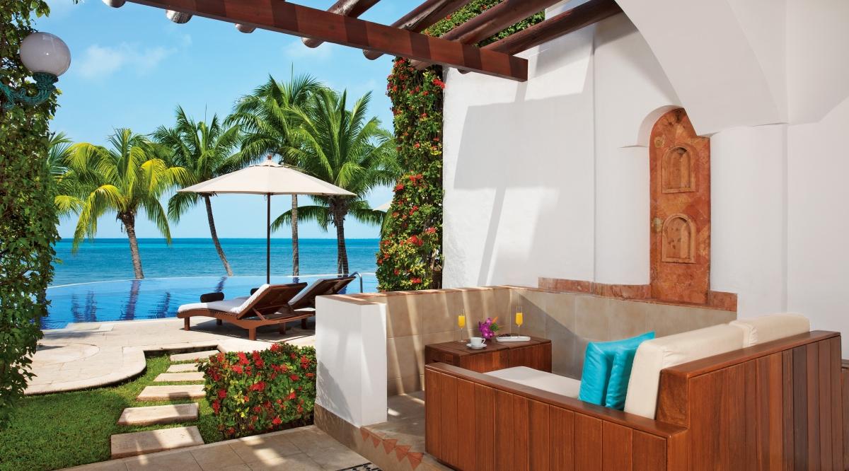Junior Suite Veranda Ocean Front Zoetry Villa Rolandi Isla Mujeres