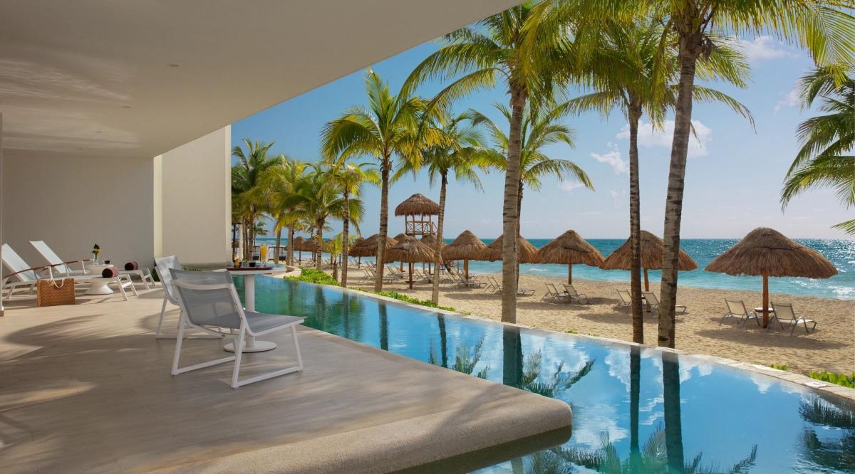 Preferred Club Master Suite Ocean View Secrets Playa Mujeres Golf & Spa Resort
