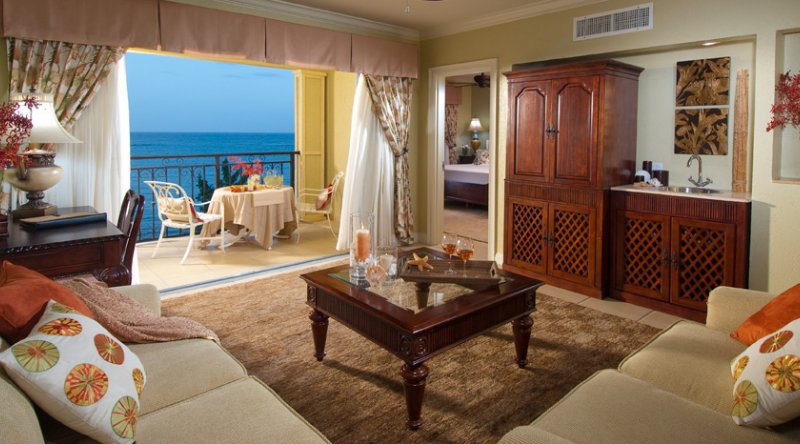 Penthouse Beachfront One Bedroom Butler Suite - Sandals South Coast