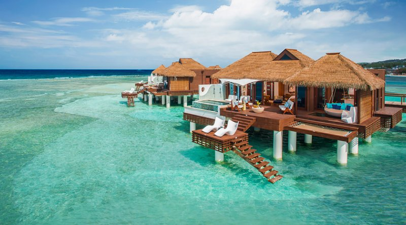 Over the Water Private Island Butler Villa with Infinity Pool - Sandals Royal Caribbean
