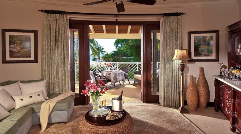 Millionaire Honeymoon Oceanview Penthouse One Bedroom Butler Suite - Sandals Negril