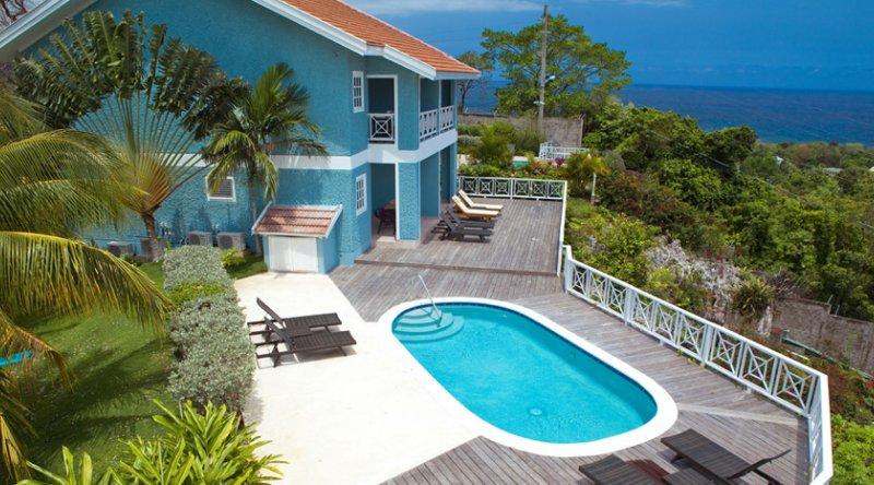 Butler Village Oceanview One Bedroom Poolside Villa Suite - Sandals Ochi
