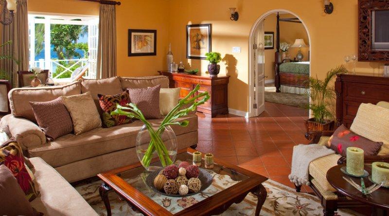 Beachfront Prime Minister's One Bedroom Butler Villa Suite - Sandals Montego Bay