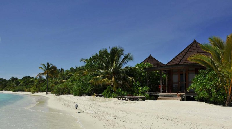 Jacuzzi Beach Villa - Komandoo Island Resort