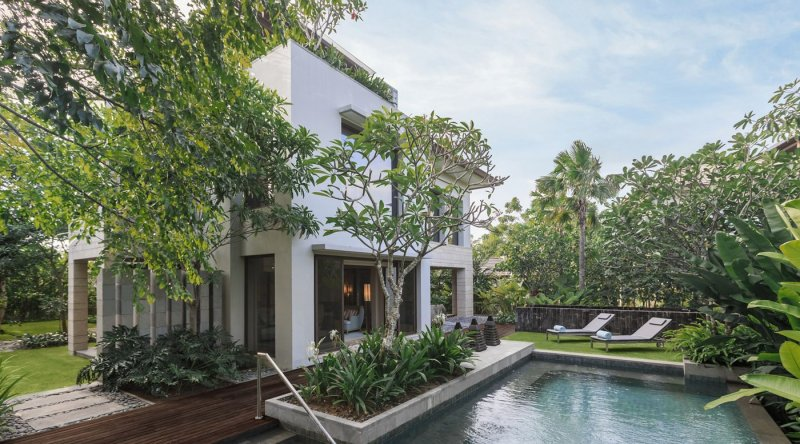 Garden Villa With Private Pool - Ritz Carlton