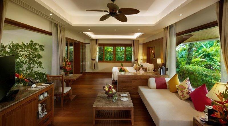 Deluxe Garden Villa - Santiburi Beach Resort & Spa