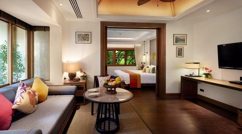 Grand Deluxe Garden Villa - Santiburi Beach Resort & Spa