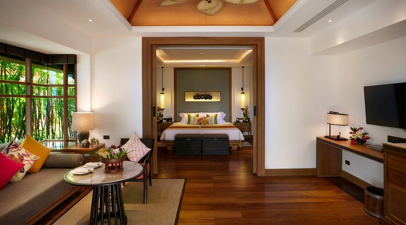 Deluxe Beachfront Villa Plunge Pool - Santiburi Beach Resort & Spa