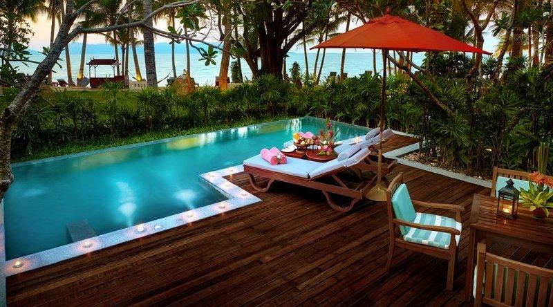 Two Bedroom Grand Deluxe Beachfront With Pool - Santiburi Beach Resort & Spa
